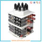 China rotating acrylic lipstick display factory
