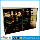 China square Acrylic retail store Display cabinet/showcase-Fabrik