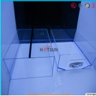 China transparent plastic shoe boxes / acrylic nike shoe box factory