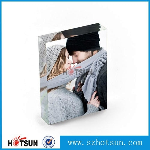 2016 new style acrylic photofunia/photo frame simple acrylic glass ...