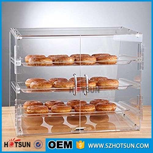 Acrylic Bread Cake Box Baker Cabinet Model Acrylic