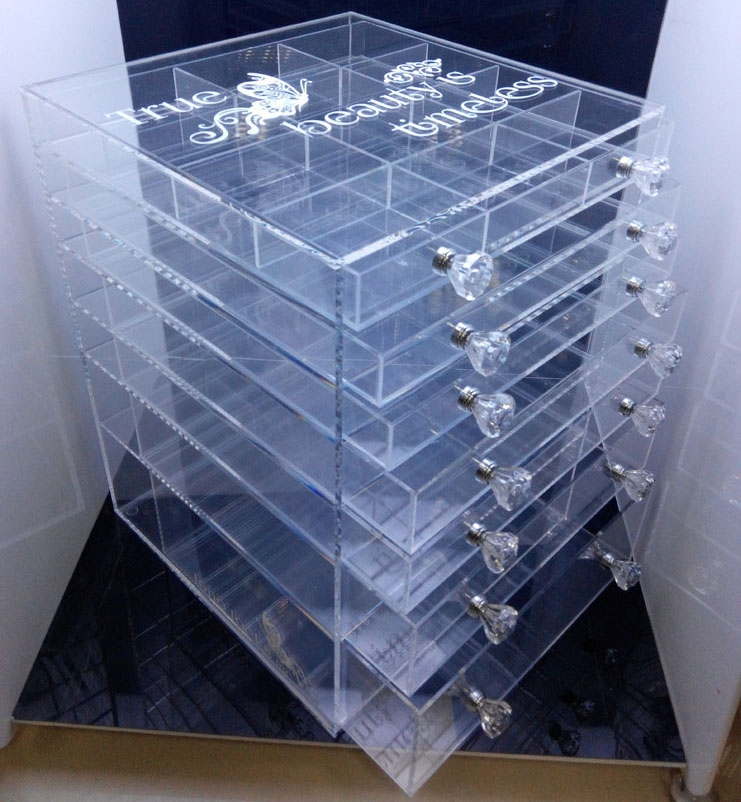 Custom Acrylic Makeup Cosmetic Organizer China
