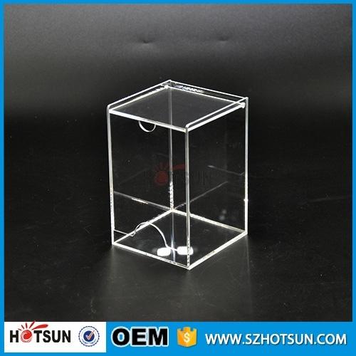 Clear Acrylic Tea Bag Dispenser Holder Box
