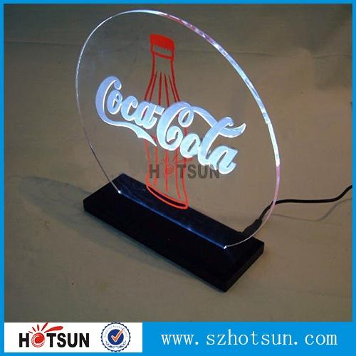 china lieferanten individuelle hochwertigem acryl led anzeige halter led anzeige acryl. Black Bedroom Furniture Sets. Home Design Ideas