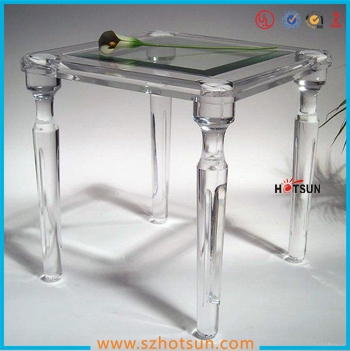 Custom Clear Acrylic Tables Fashionable Acrylic Furniture