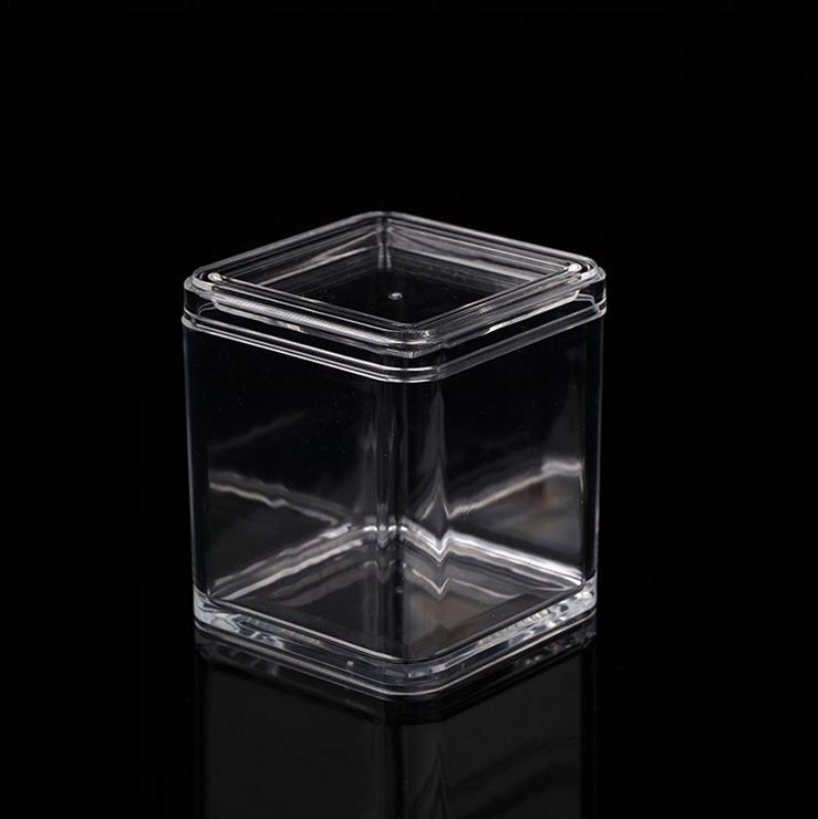 Cylinder Clear Acrylic High End Candy Box With Slip Lid