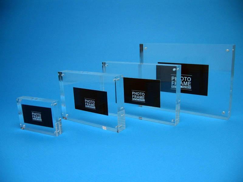 Verschiedene Größen Bilderrahmen Transparent Tabletop Acryl ...