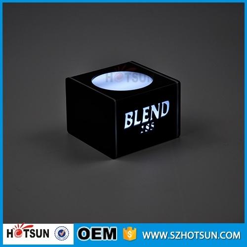 beleuchtung led flasche glorifier acryl beleuchtete. Black Bedroom Furniture Sets. Home Design Ideas