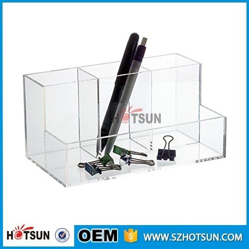 new design clear acrylic office desk organizer acrylic office desk