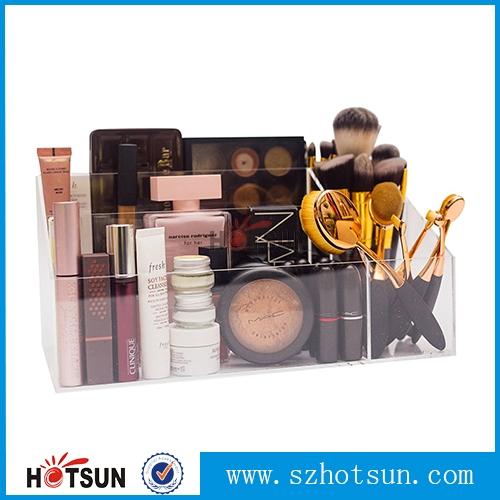 Wholesale Cosmetic Plastic Desk Organizer Storage Acrylic Makeup Organizer