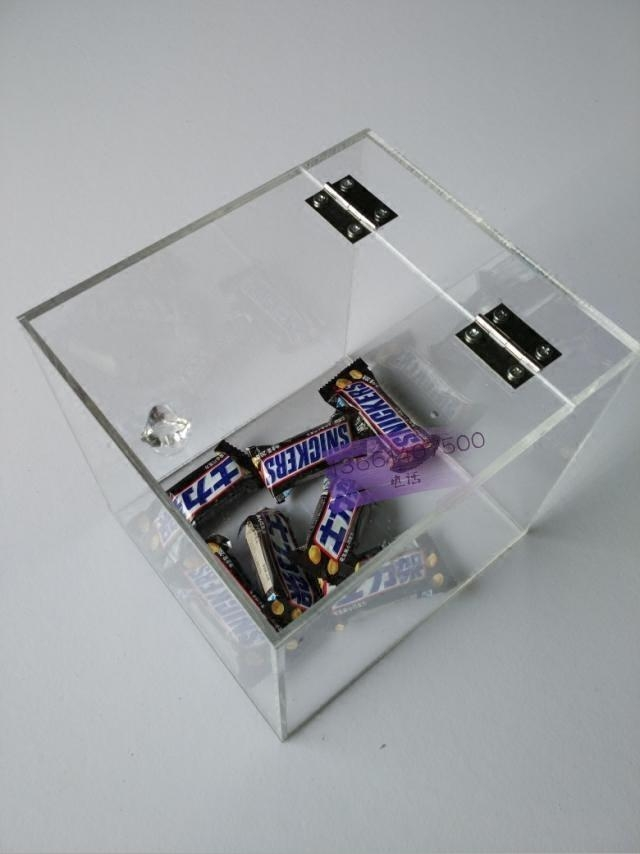 Wholesale Clear Acrylic Candy Box/plastic Candy Containers/acrylic Display  For Candy ...