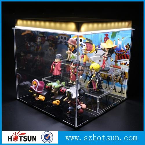 Acrylic Box With Led : Customized acrylic display box with led light illuminated