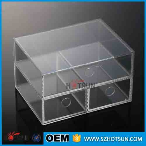 Acrylic Jewelry Amp Cosmetic Storage Display Boxes With 3