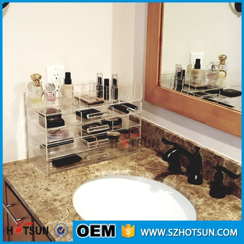 Beautiful Design Cosmetic Storage Box Wholesale Acrylic