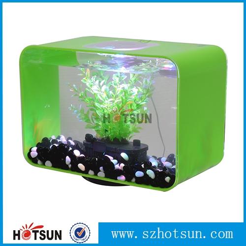 Custom mini small acrylic fish tanks acrylic aquariums for Plastic fish tank