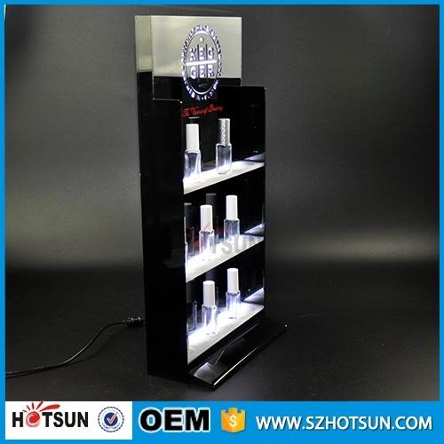 Hanging Nail Polish Shelf Display Acrylic Perfume Oil Wall