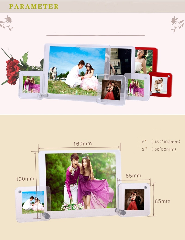 wedding 2015 new style acrylic photofunia photo frame - Acrylic ...